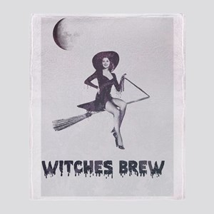 Witches [brew} Throw Blanket
